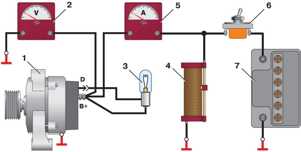 Как собрать стенд для проверки генератора своими руками